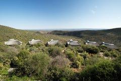 Τοπίο του εθνικού πάρκου ελεφάντων Addo τον Αύγουστο, Νότια Αφρική στοκ φωτογραφίες με δικαίωμα ελεύθερης χρήσης