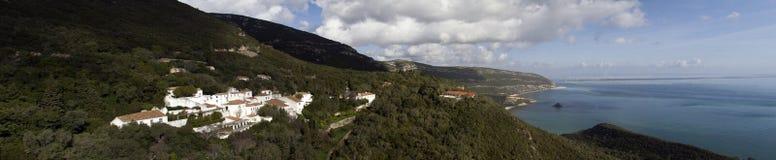 Τοπίο του εθνικού πάρκου Arrabida στην Πορτογαλία Στοκ Εικόνες