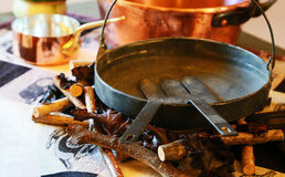 Τοπίο του εργαλείου κουζινών της κουζίνας Στοκ φωτογραφία με δικαίωμα ελεύθερης χρήσης