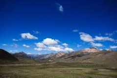 Τοπίο του Θιβέτ Στοκ Εικόνες