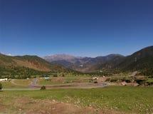 Τοπίο του Θιβέτ Στοκ Φωτογραφία
