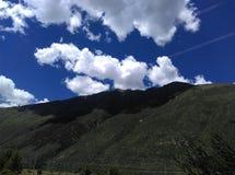 Τοπίο του Θιβέτ Στοκ Εικόνα