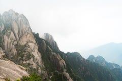 Τοπίο του κίτρινου βουνού βουνών Huangshan, Anhui, Κίνα Στοκ Φωτογραφία