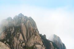 Τοπίο του κίτρινου βουνού βουνών Huangshan, Anhui, Κίνα Στοκ Εικόνες