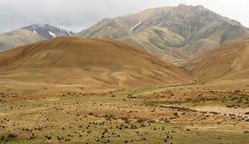 τοπίο του Κιργιζιστάν στοκ φωτογραφίες