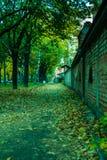 Τοπίο του μικρού πάρκου Στοκ Εικόνες