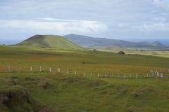 Τοπίο του νησιού Πάσχας, Χιλή στοκ φωτογραφία με δικαίωμα ελεύθερης χρήσης