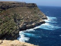 Τοπίο του νησιού Lampedusa στην Ιταλία Στοκ Εικόνες