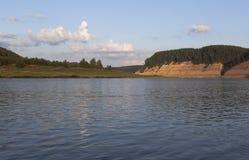 Τοπίο του ποταμού Sukhona στο κομμάτι Opoki Στοκ Εικόνα