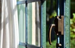 Τοπίο του πράσινου παραθύρου Στοκ φωτογραφία με δικαίωμα ελεύθερης χρήσης