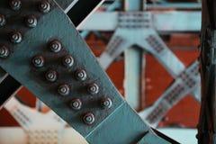 Τοπίο του πλαισίου χάλυβα μετάλλων Στοκ Φωτογραφίες