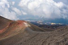 Τοπίο του υποστηρίγματος Etna Στοκ εικόνες με δικαίωμα ελεύθερης χρήσης