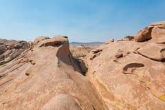 Τοπίο του φαραγγιού και των βράχων bektau-ΑΤΑ στο Καζακστάν στοκ φωτογραφίες με δικαίωμα ελεύθερης χρήσης
