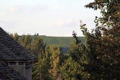 Τοπίο του χωριού Στοκ Εικόνες