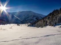 Τοπίο του όμορφου χειμώνα στοκ φωτογραφία με δικαίωμα ελεύθερης χρήσης