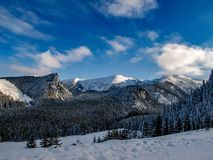 Τοπίο του όμορφου χειμώνα στοκ φωτογραφίες