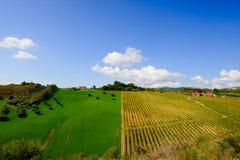 Τοπίο του Abruzzo Στοκ Εικόνες