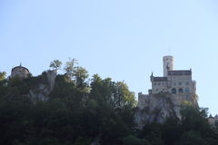 Τοπίο του Castle Lichtenstein Στοκ Φωτογραφίες