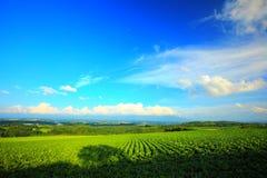 τοπίο του Hokkaido στοκ φωτογραφίες