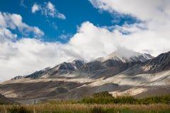 Τοπίο του leh ladakh, Ινδία Στοκ εικόνα με δικαίωμα ελεύθερης χρήσης
