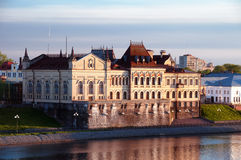 Τοπίο του Rybinsk Στοκ εικόνα με δικαίωμα ελεύθερης χρήσης