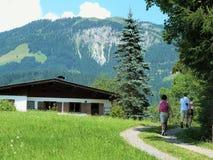 Τοπίο του Tirol Στοκ Εικόνες