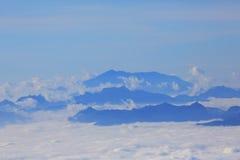 Τοπίο το pha doi βουνών hom pok Στοκ Φωτογραφίες