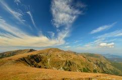 Τοπίο των βουνών Carpathians Στοκ φωτογραφία με δικαίωμα ελεύθερης χρήσης
