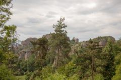 Τοπίο των βράχων Belogradchik στοκ φωτογραφίες με δικαίωμα ελεύθερης χρήσης
