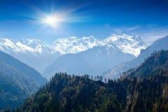 Τοπίο των Ιμαλαίων, Νεπάλ Στοκ φωτογραφίες με δικαίωμα ελεύθερης χρήσης