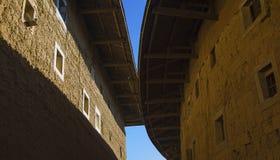 Τοπίο των κτηρίων Tulou σε Fujian Στοκ φωτογραφίες με δικαίωμα ελεύθερης χρήσης