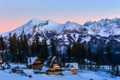 Τοπίο των υψηλών βουνών Tatra Στοκ φωτογραφίες με δικαίωμα ελεύθερης χρήσης