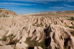 Τοπίο των φυσικών μορφών Cappadocia βράχου, Στοκ φωτογραφίες με δικαίωμα ελεύθερης χρήσης