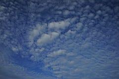 Τοπίο υποβάθρου σύννεφων από το αεροπλάνο Στοκ Εικόνες