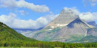Τοπίο υψηλών βουνών στο ίχνος παγετώνων Grinnell, εθνικό πάρκο παγετώνων, Μοντάνα Στοκ εικόνες με δικαίωμα ελεύθερης χρήσης