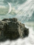τοπίο φαντασίας Στοκ Εικόνα