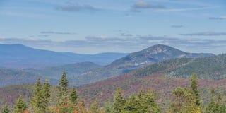 Τοπίο φθινοπώρου βουνών Whiteface Στοκ Εικόνες