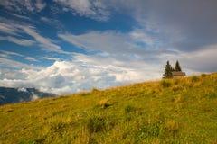Τοπίο φθινοπώρου σε Carnic Apls στην Αυστρία Στοκ Εικόνες