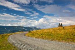 Τοπίο φθινοπώρου σε Carnic Apls στην Αυστρία Στοκ εικόνες με δικαίωμα ελεύθερης χρήσης