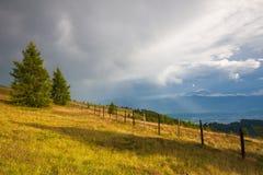 Τοπίο φθινοπώρου σε Carnic Apls στην Αυστρία Στοκ φωτογραφίες με δικαίωμα ελεύθερης χρήσης