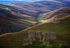 Τοπίο φθινοπώρου στα βουνά - Ρουμανία Στοκ φωτογραφία με δικαίωμα ελεύθερης χρήσης