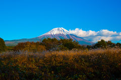 Τοπίο φθινοπώρου της Ιαπωνίας Στοκ εικόνα με δικαίωμα ελεύθερης χρήσης