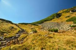 Τοπίο φθινοπώρου των βουνών Στοκ εικόνες με δικαίωμα ελεύθερης χρήσης
