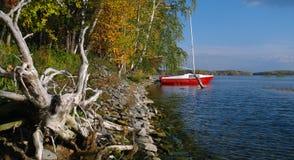 Τοπίο φθινοπώρου των νότιων Ουραλίων Στοκ φωτογραφίες με δικαίωμα ελεύθερης χρήσης