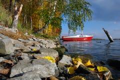 Τοπίο φθινοπώρου των νότιων Ουραλίων Στοκ Φωτογραφίες