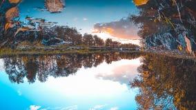 Τοπίο φθινοπώρου φύσης Στοκ φωτογραφία με δικαίωμα ελεύθερης χρήσης