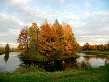 Τοπίο φθινοπώρου Στοκ Εικόνες
