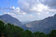 Τοπίο φύσης βουνών στην Ιταλία Στοκ φωτογραφίες με δικαίωμα ελεύθερης χρήσης