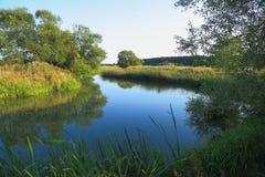 Τοπίο φύσης μια θερινή ημέρα Στοκ εικόνα με δικαίωμα ελεύθερης χρήσης