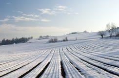 τοπίο χειμερινό Στοκ Εικόνα